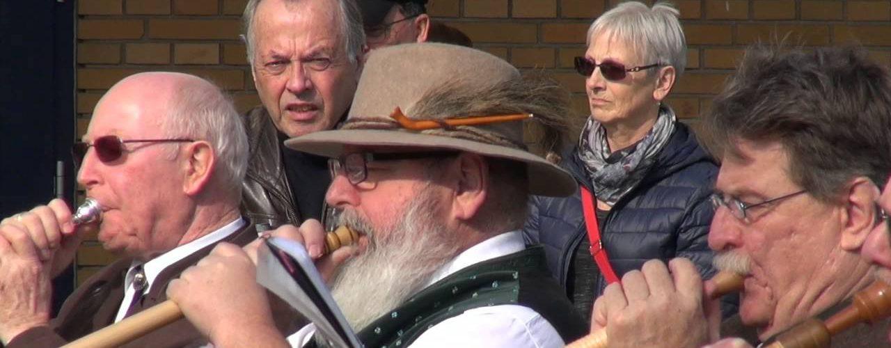 50 Alphörner in Fichtenberg