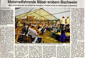 Nachbericht Badisches Tagblatt 06062016