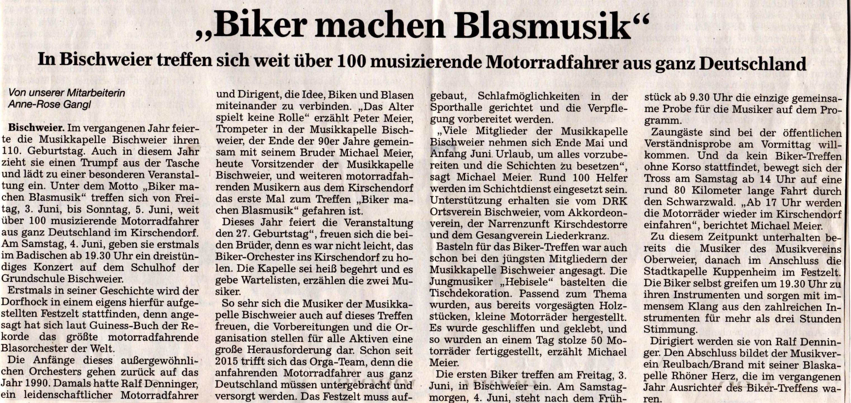 Vorbericht Badische Neueste Nachrichten 24052016