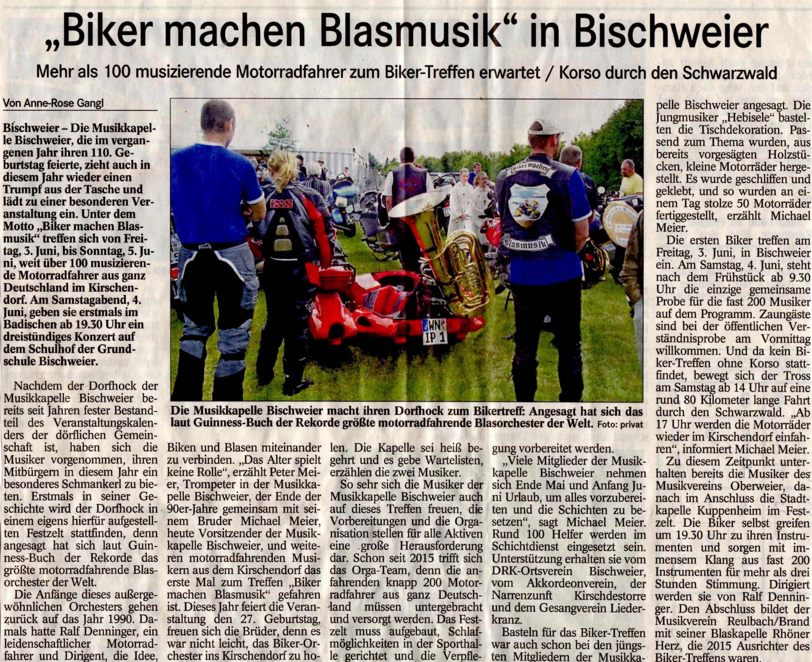 Vorbericht Badisches Tagblatt 24052016