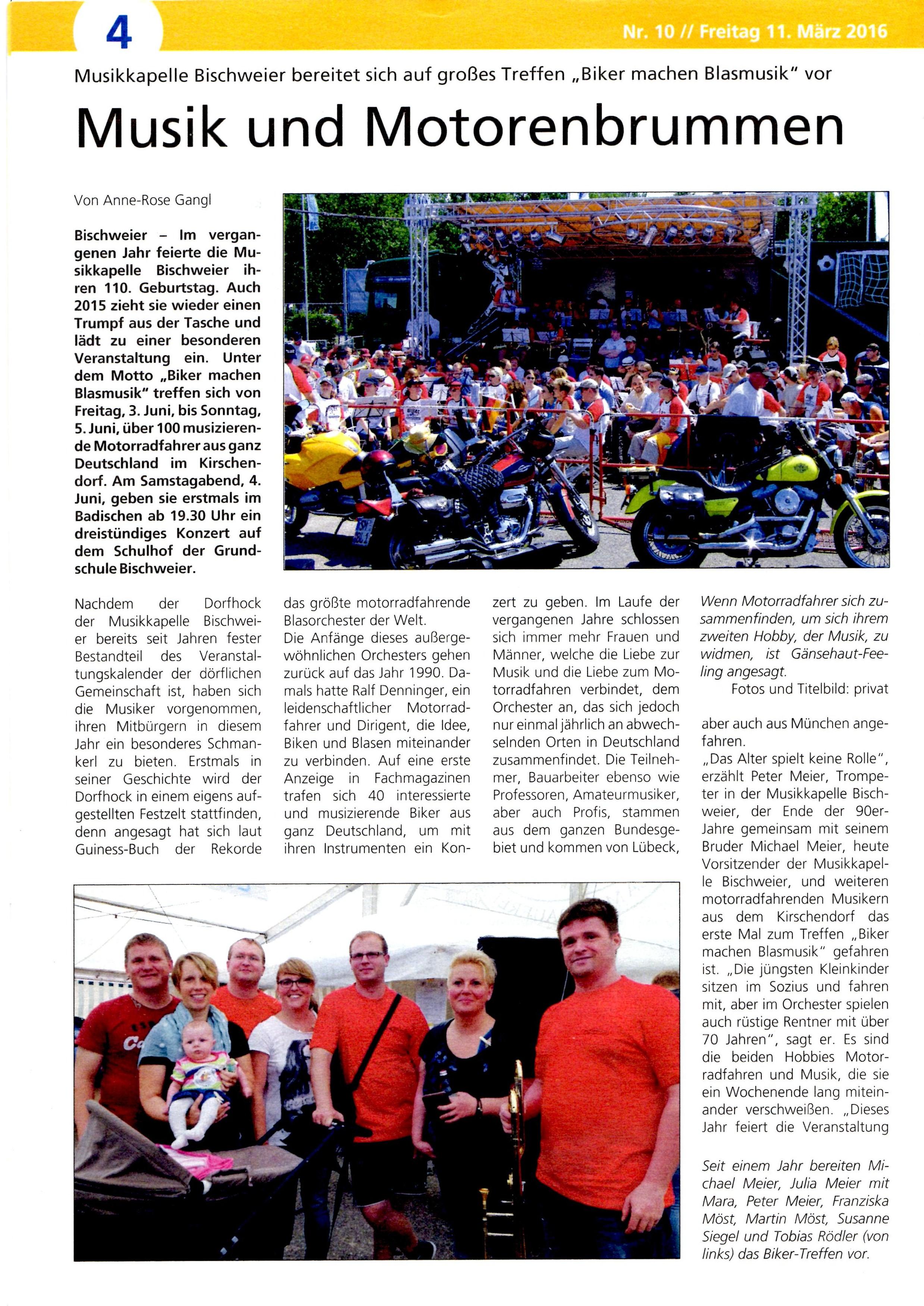 Vorbericht Seite 1 Wochenblick Kuppenheim Bischweier 11032016