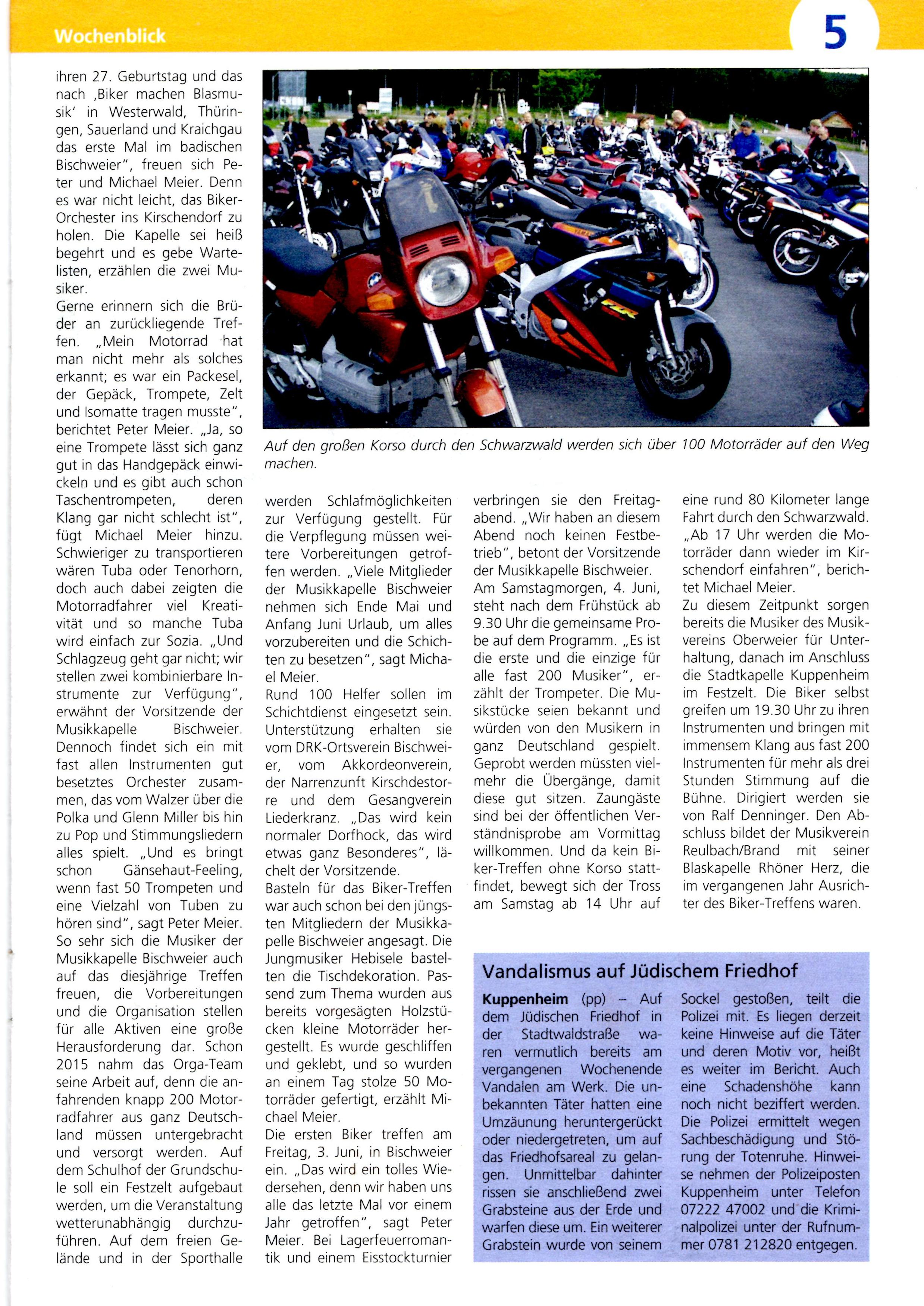 Vorbericht Seite 2 Wochenblick Kuppenheim Bischweier 11032016