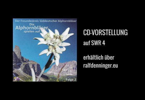 CD-Vorstellung auf SWR4