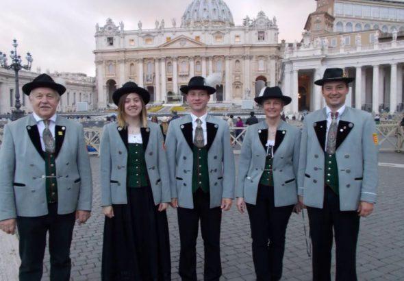 Dia Show Rom 2017 Freundeskreis Süddeutscher Alphornbläser